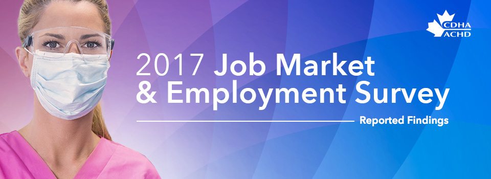 CDHA Job Market And Employment Survey