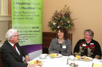 Bill Casey (Chair of the Health Committee), Jennifer Turner (Director of Dental Hygiene Practice), Donna Scott (the North)