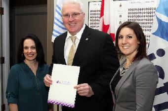 Tracy Bowser (Prince Edward Island), John Brassard (MP, Barrie-Innisfil), Tiffany Ludwicki (Newfoundland & Labrador)