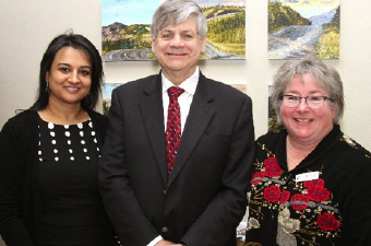 Mandy Hayre (British Columbia), Larry Bagnell (MP, Yukon), Donna Scott (Yukon, Northwest Territories, Nunavut)