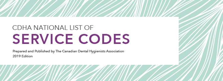 Cdha National List Of Service Codes